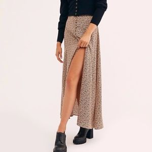 Free People Sammy Button Down skirt